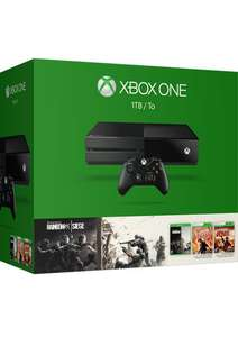Xbox One 1TB + Rainbow Six Siege + Rainbow Six Vegas i Vegas 2 za ok. 1085zł @ SimplyGames