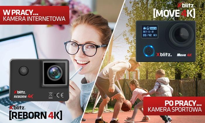 Kamera sportowa Xblitz MOVE 4K - 299 zł/ Xblitz REBORN 4K - 349 zł