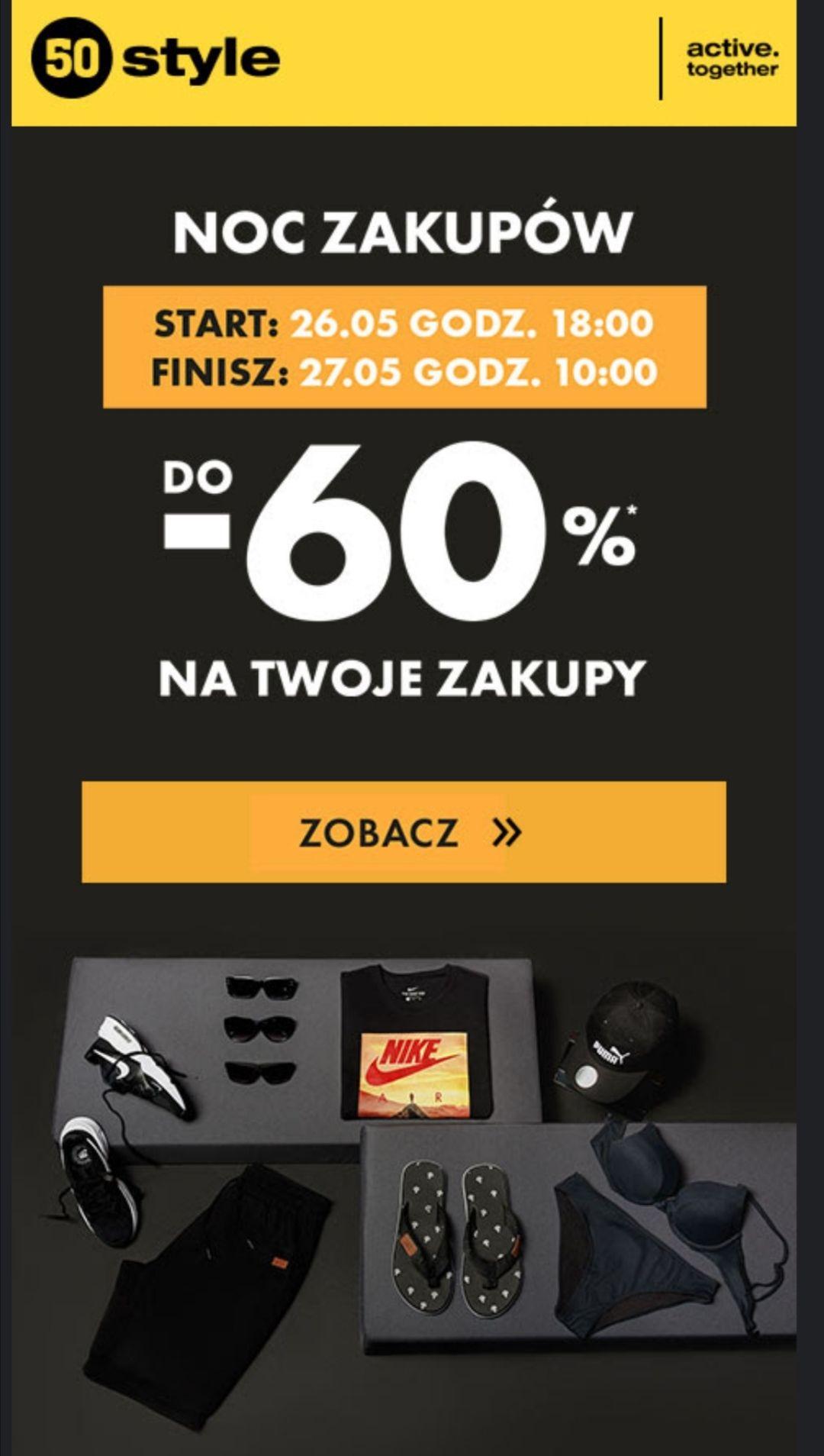 Do -60% w sklepie internetowym 50 style