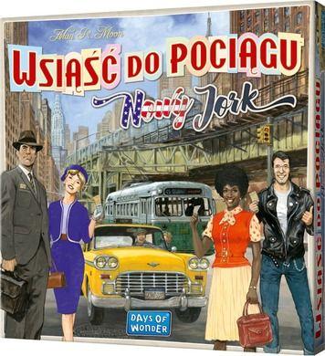 Gra planszowa - Wsiąść do Pociągu: Nowy Jork