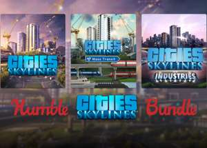 [Steam] Humble Cities: Skylines Bundle