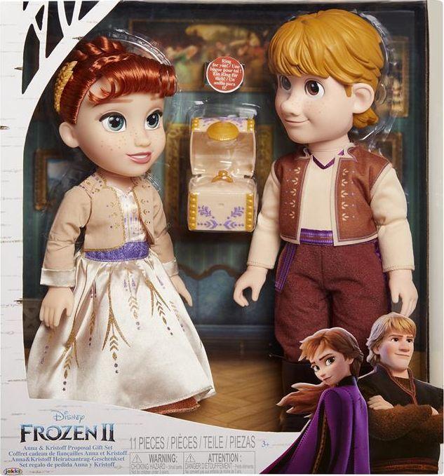 Frozen 2 Anna i Kristoff 201464, zestaw lalek dla dzieci