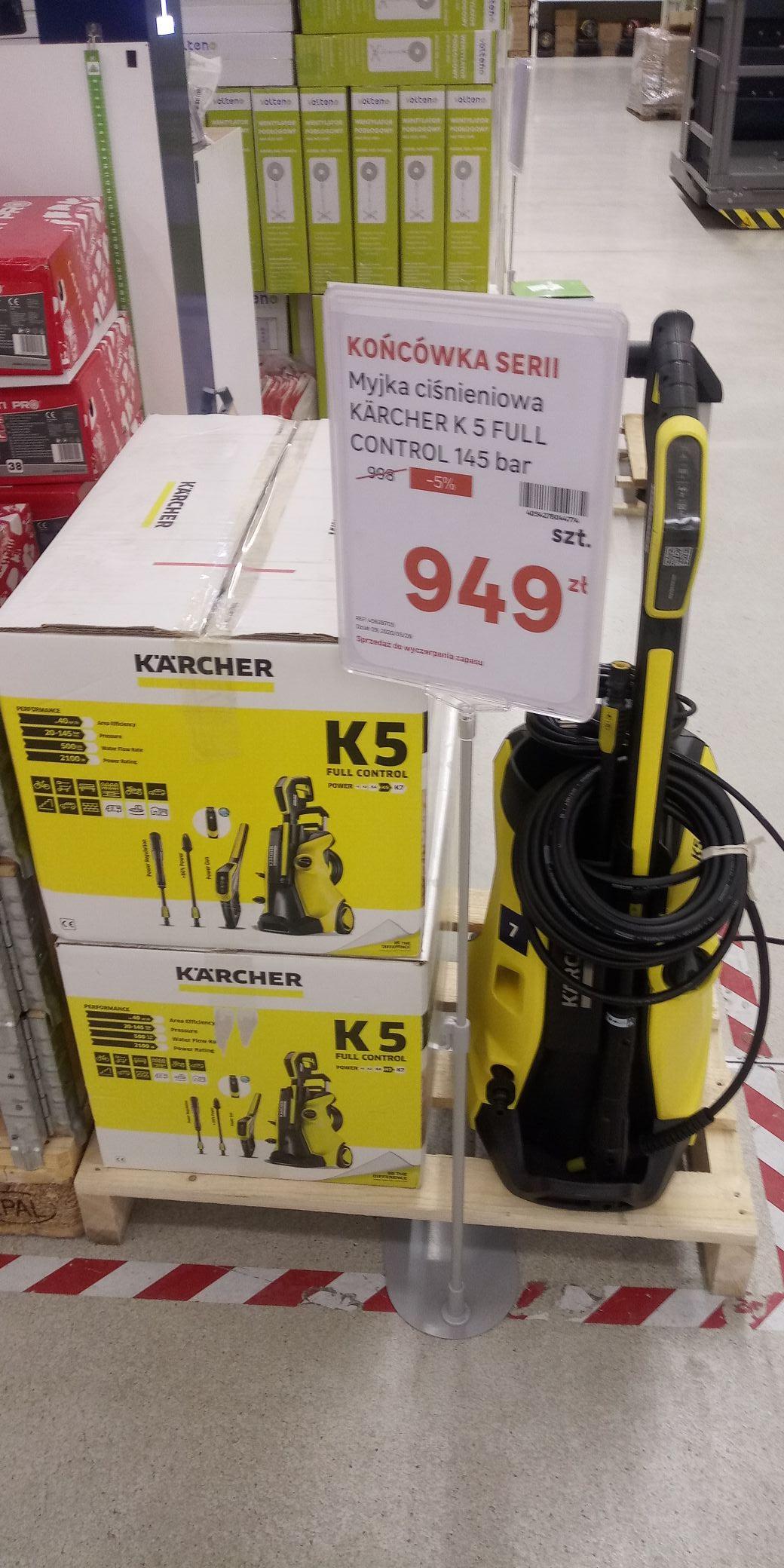 Myjka cisnieniowa karcher k5 full controll @Leroy Merlin (Katowice)