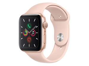 Apple Watch 5 44/Gold Aluminium/Pink Sport GPS