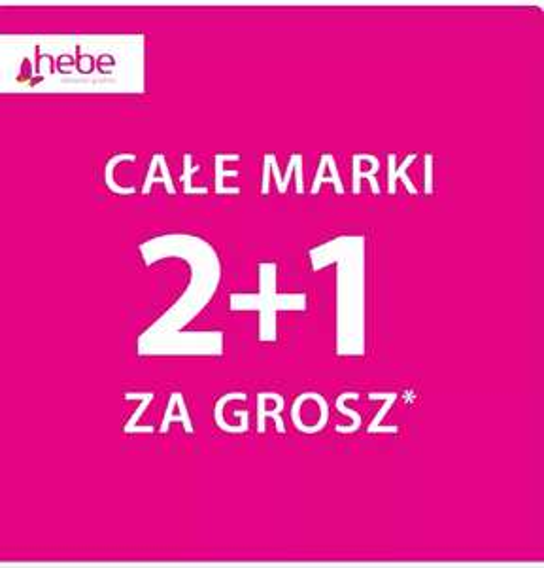 HEBE 2+1 za grosz Colgate i Elmex