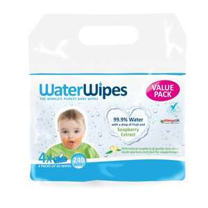 4x60 WaterWipes Soapberry