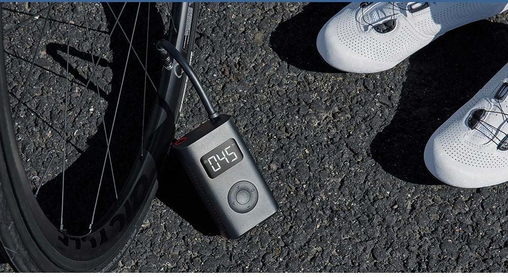Xiaomi Electric Inflator Pump - elektroniczna pompka do opon hulajnogi, auta, roweru @ DHgate