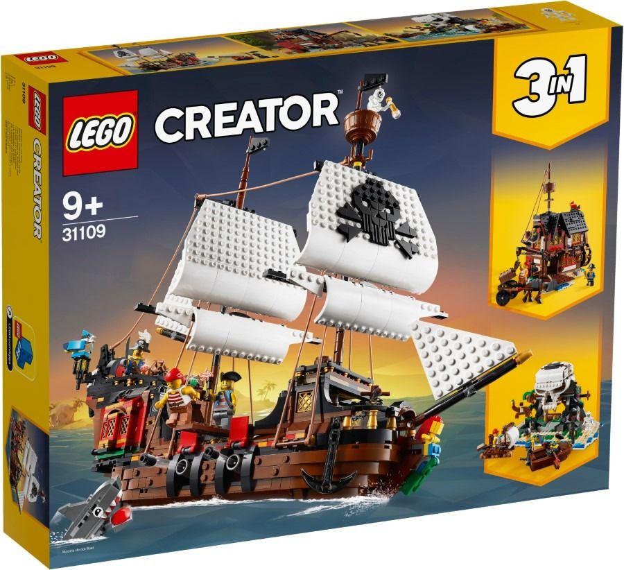 LEGO Creator, Statek piracki, 31109