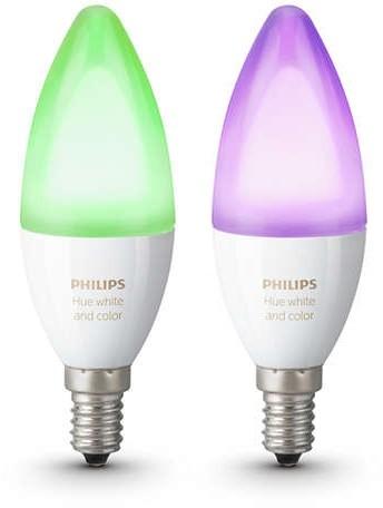 Philips Hue świeczka E14 kolor 2-pak RGBW