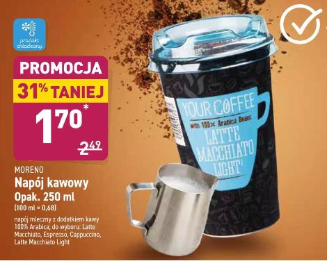 Napój kawowy 250ml 100% Arabica w Aldi
