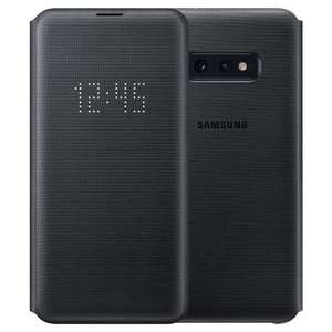 Etui Samsung LED Cover do Galaxy S10e Black