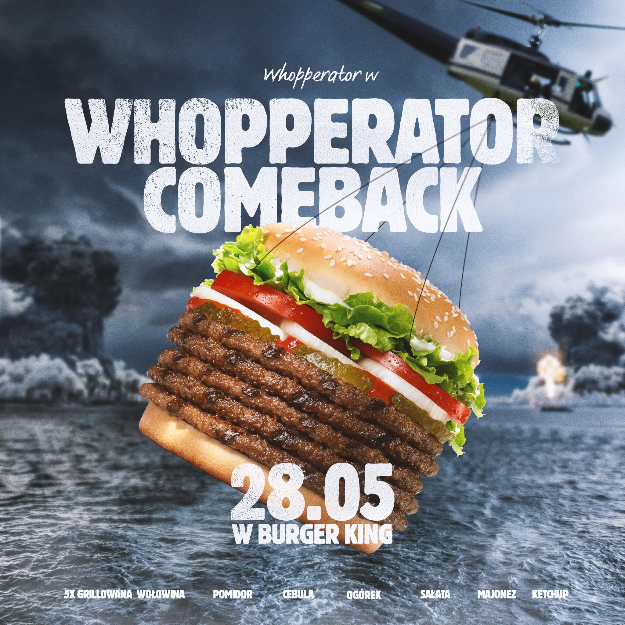 Whopperator, dzień burgera