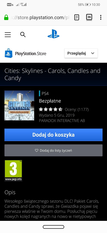 2 DLC do Cities Skylines PS4, linki w opisie