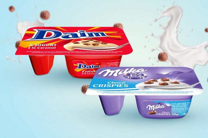 Jogurt kremowy Milka/Daim