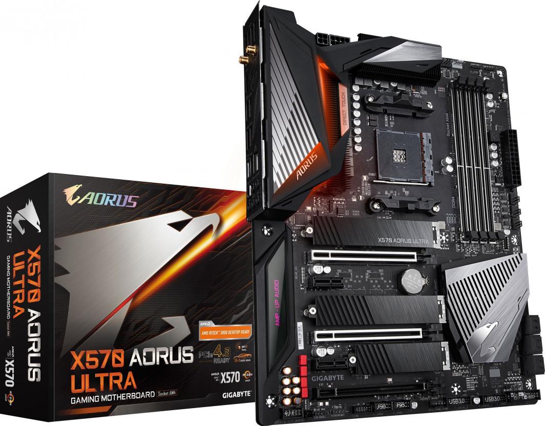 Płyta główna PC Gigabyte X570 Aorus Ultra