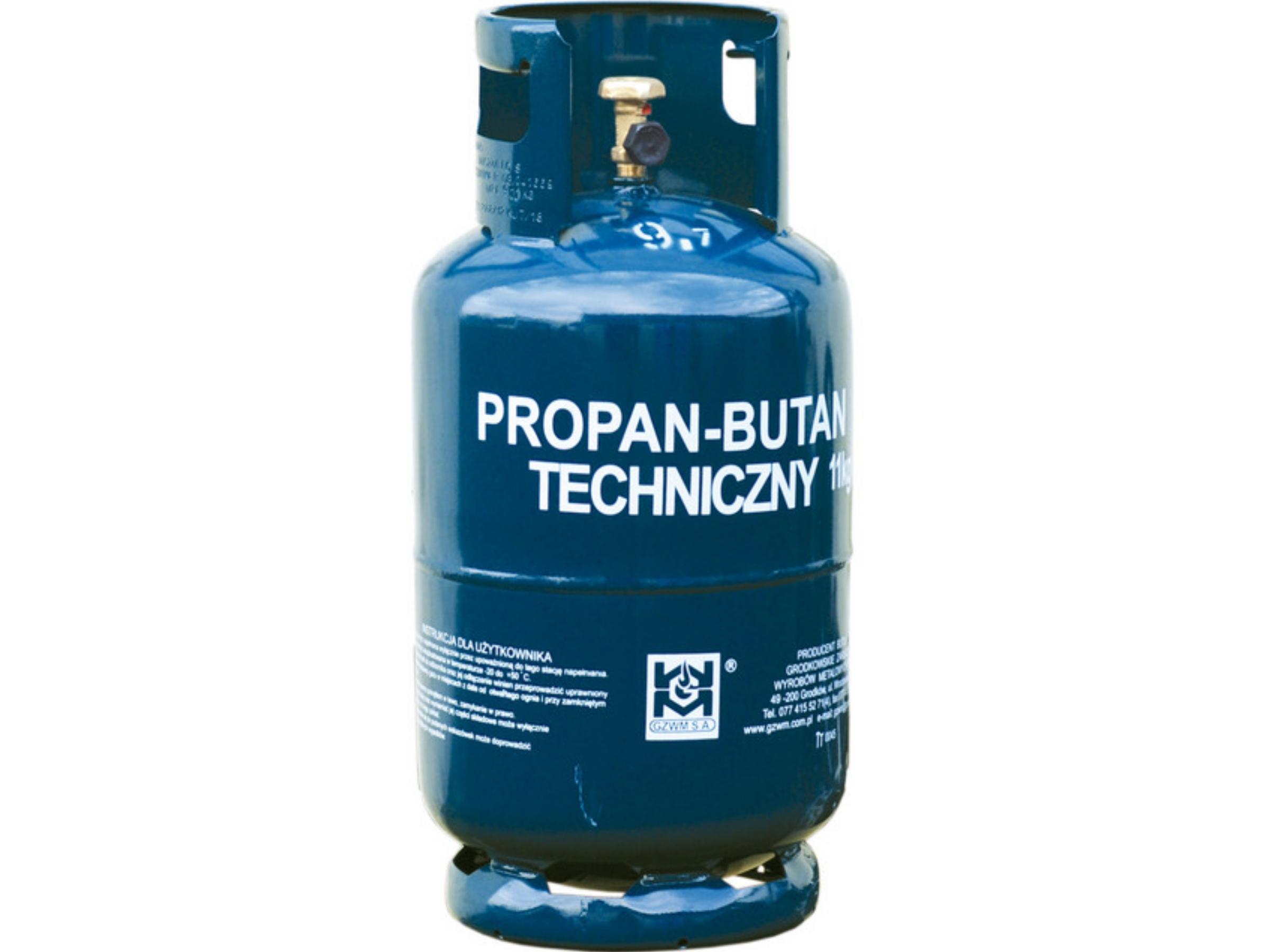 Gaz w butli 11kg - Auchan Bonarka