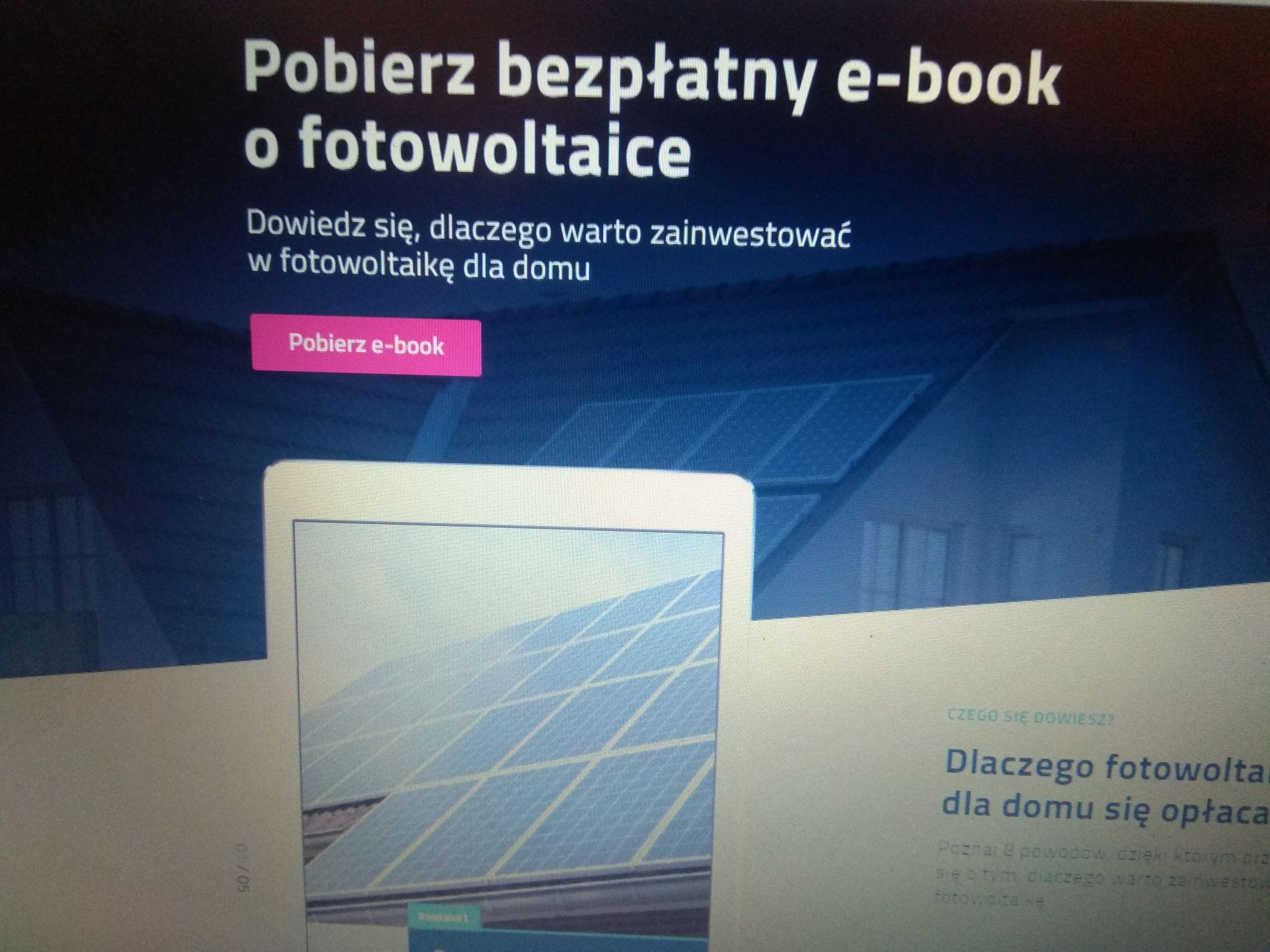 eBook o fotowoltaice