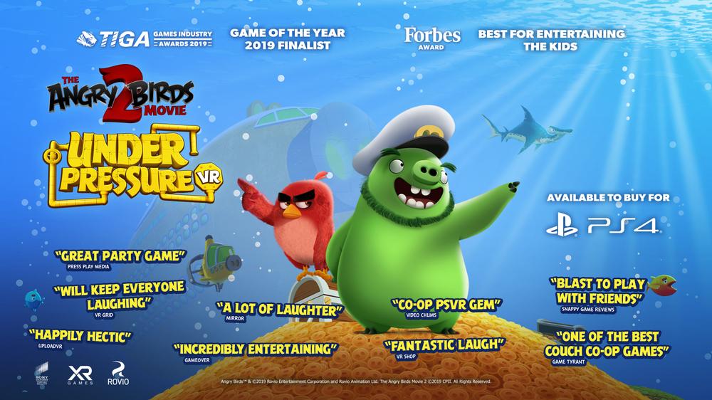 Angry Birds 2 PS4 & PSVR rozdaje 500 darmowych kopii gry dla pierwszych wpisanych na listę