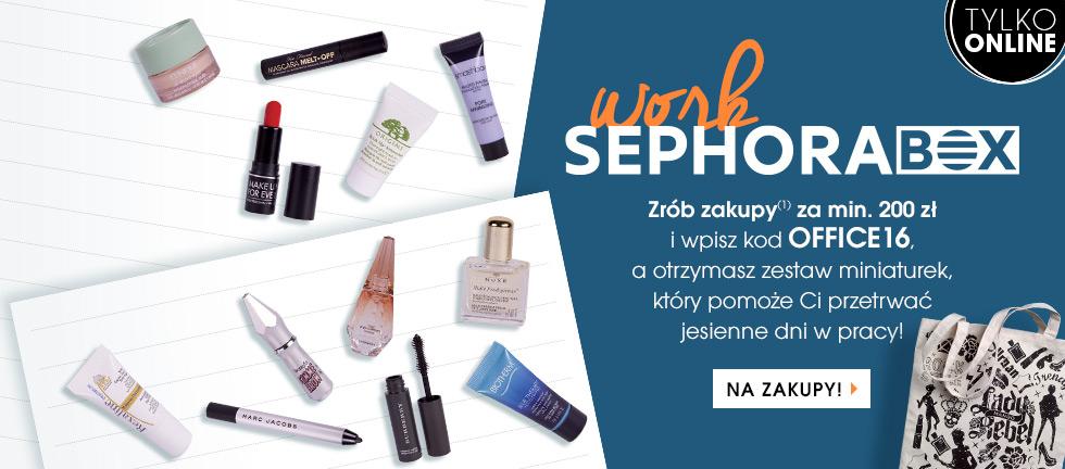 Sephora box - 12 miniatur kosmetyków gratis przy zakupach za 200zł