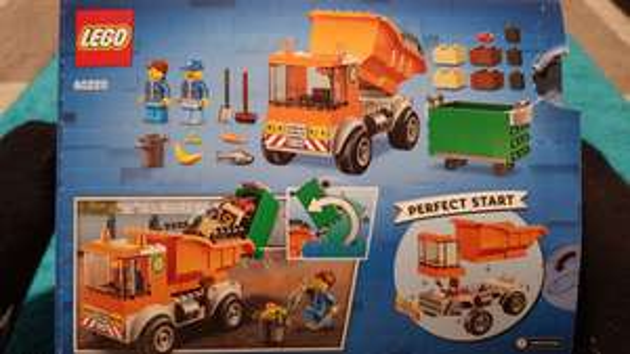 Lego 60220 śmieciarka