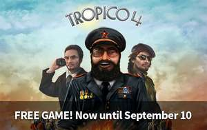 Tropico 4 za darmo w Humble Store! STEAM