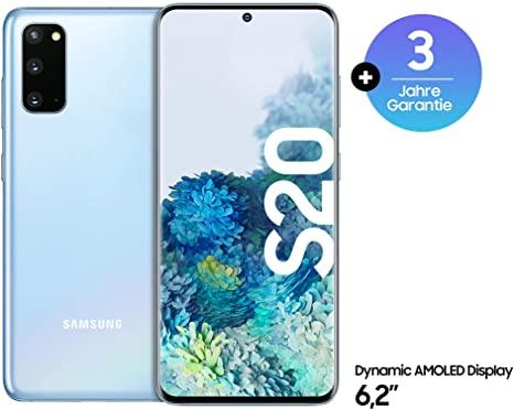 """Samsung Galaxy S20 8/128 GB. Smartfon z Amazon + akcja """"Handel w działaniu S20"""""""