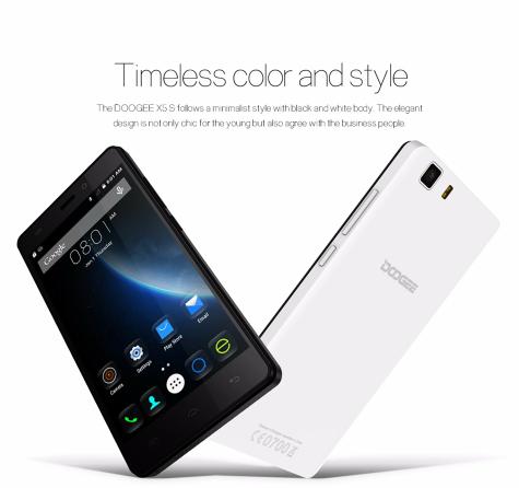 DOOGEE X5S 5-inch HD1GB 8GB MT6735 64Bit Quad-core 4G Smartphone