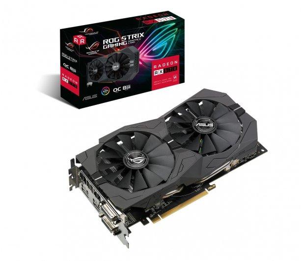 ASUS Radeon RX 570 STRIX OC 8GB GDDR5