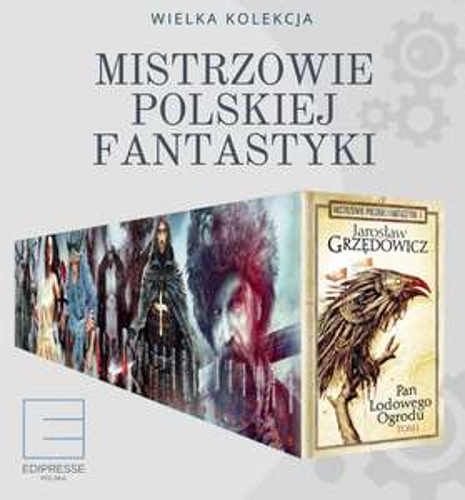 Wyprzedaż kolekcji Mistrzowie Polskiej Fantastyki