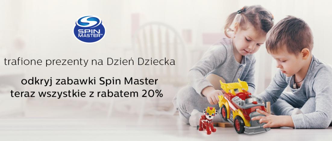 Zabawki Spin Master z rabatem 20%