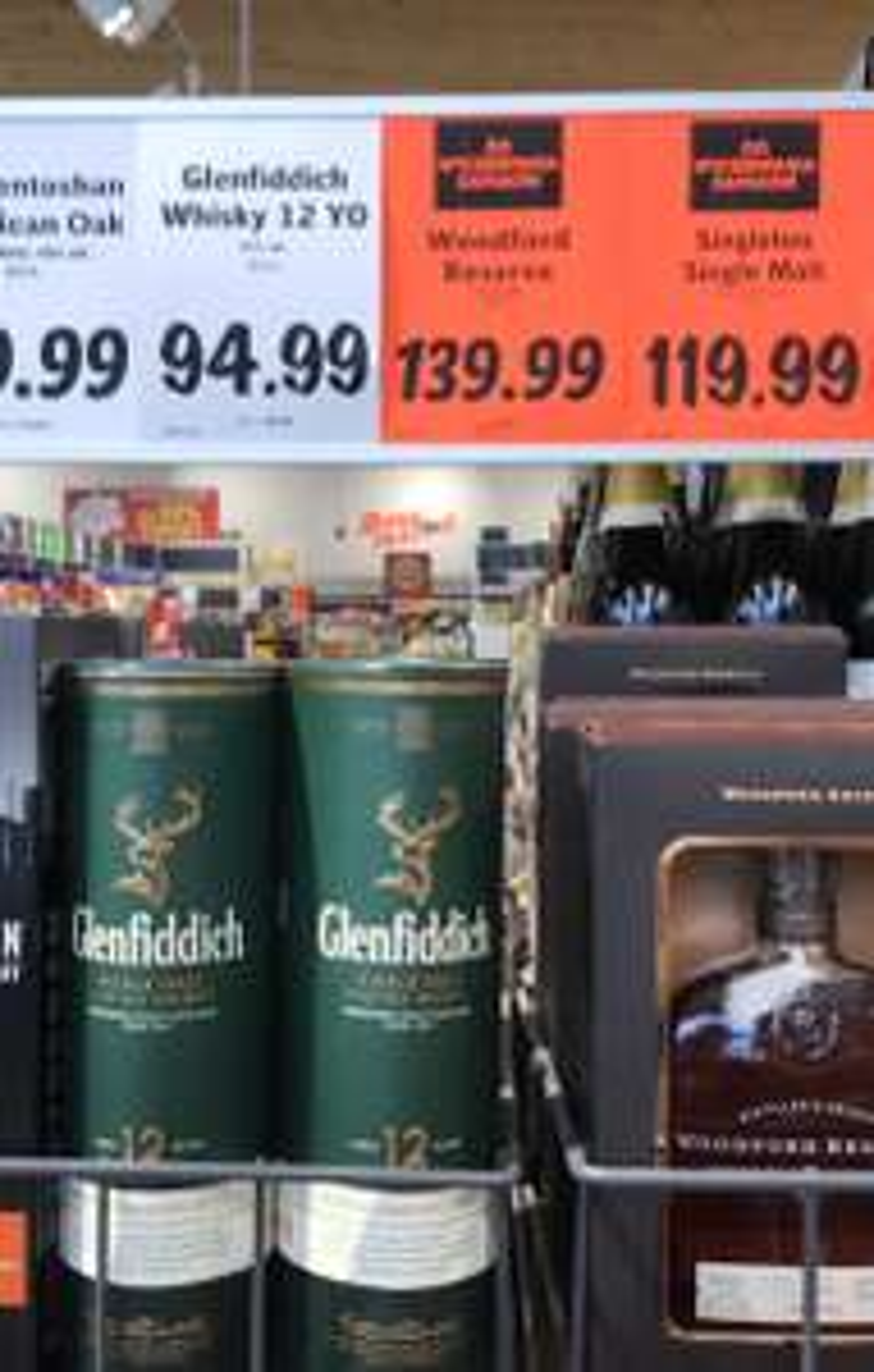 Glenfiddich Whisky 12 YO LIDL