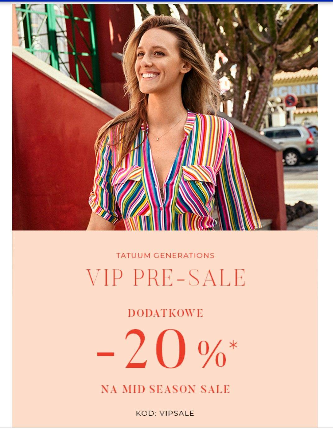 TATUUM dodatkowe -20% na Mid Season Sale! Skorzystaj z ostatnich dni wyprzedaży!