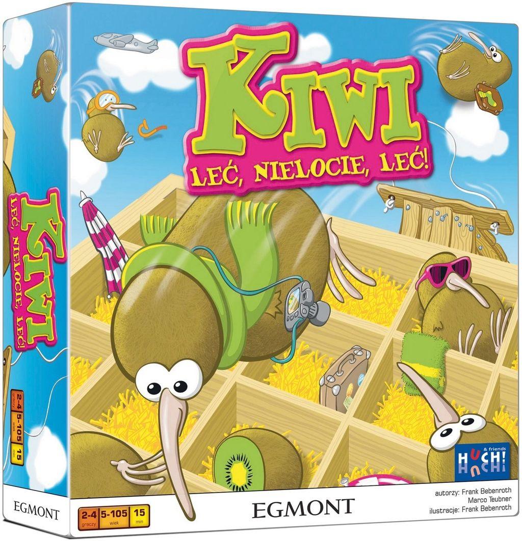 Kiwi - Leć nielocie, leć! - gra planszowa/zręcznościowa, dla najmłodszych