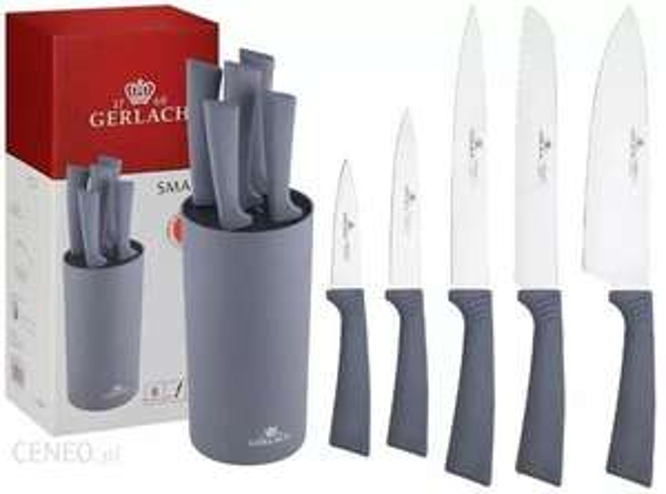 Zestaw Noży Gerlach Smart Grey