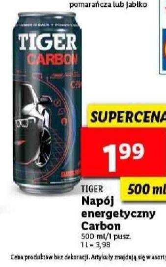 Napój energetyczny Tiger 500 ml. Lidl