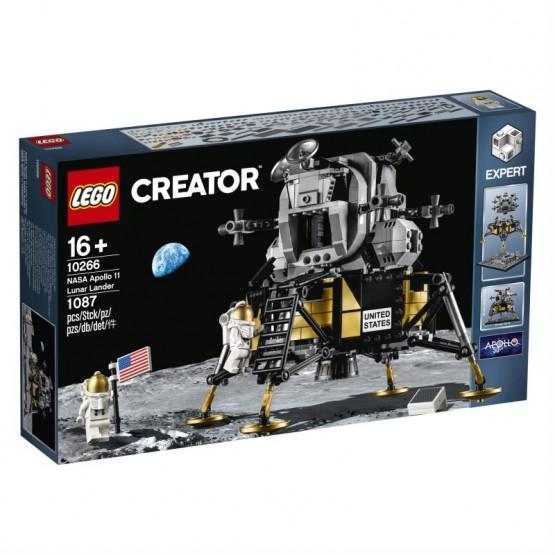 LEGO 10266 Creator Expert - Lądownik księżycowy Apollo 11 NASA LIVRO.pl