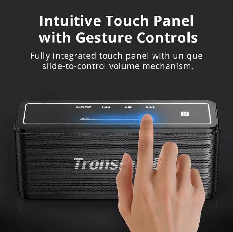 Głośnik bezprzewodowy Tronsmart Element Mega Bluetooth 5.0 40W NFC $39.07
