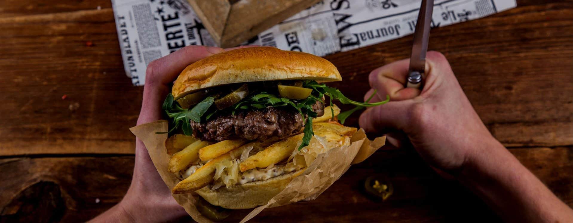 15% zniżki na burgery NightBurger Warszawa przy zamówieniu online