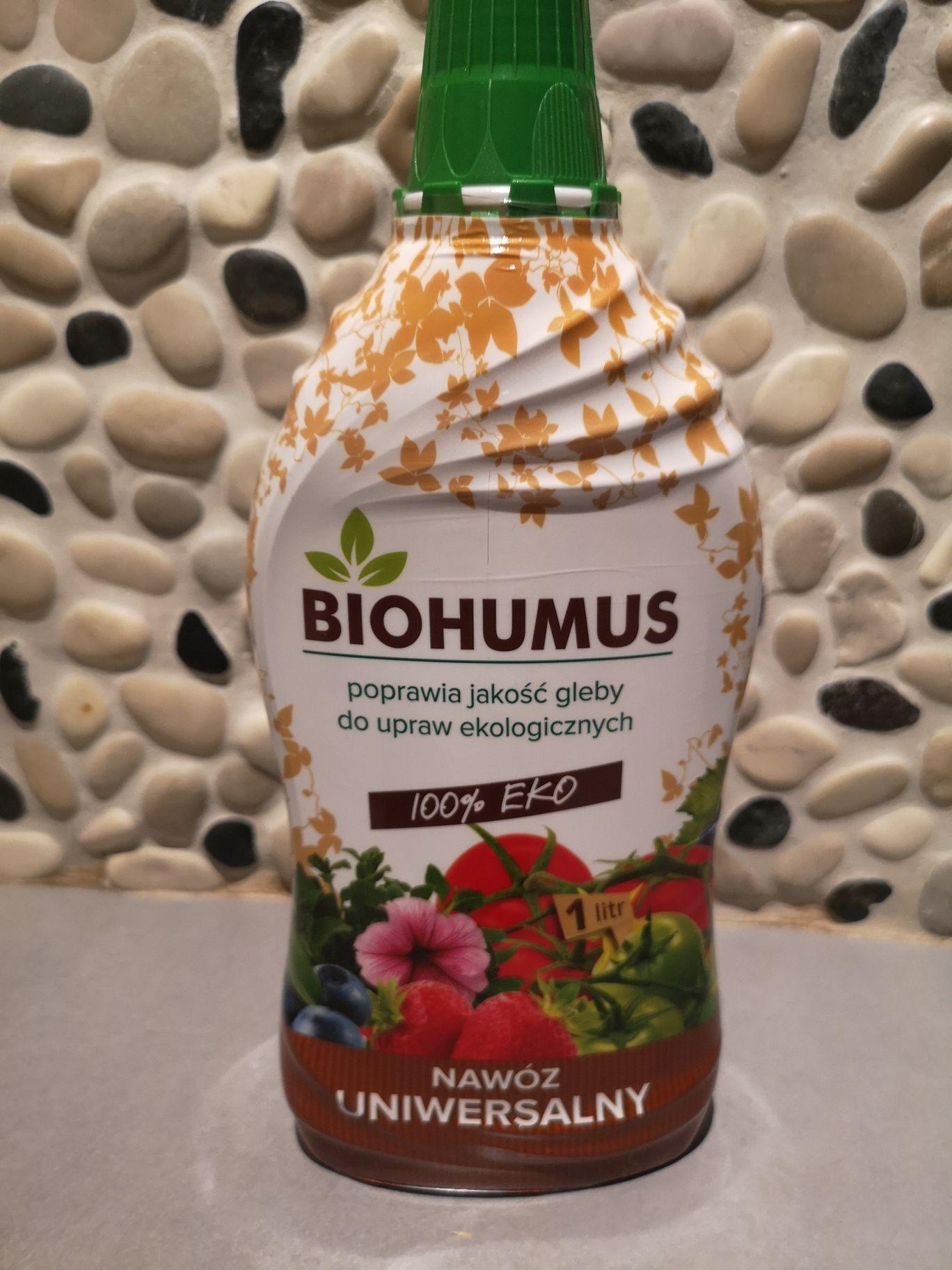 Rossmann: Biohummus - nawóz do roślin