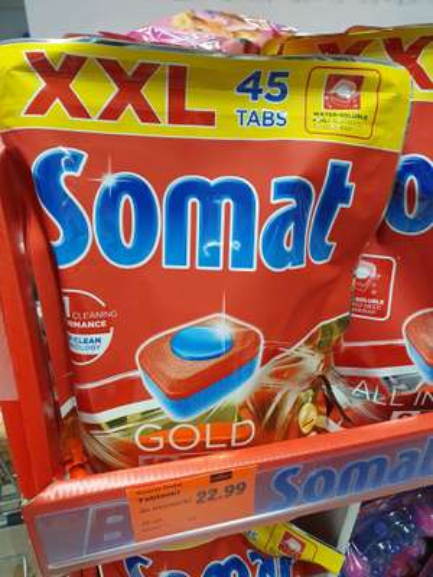 Somat Gold 45szt 0.51zł/szt w lidl