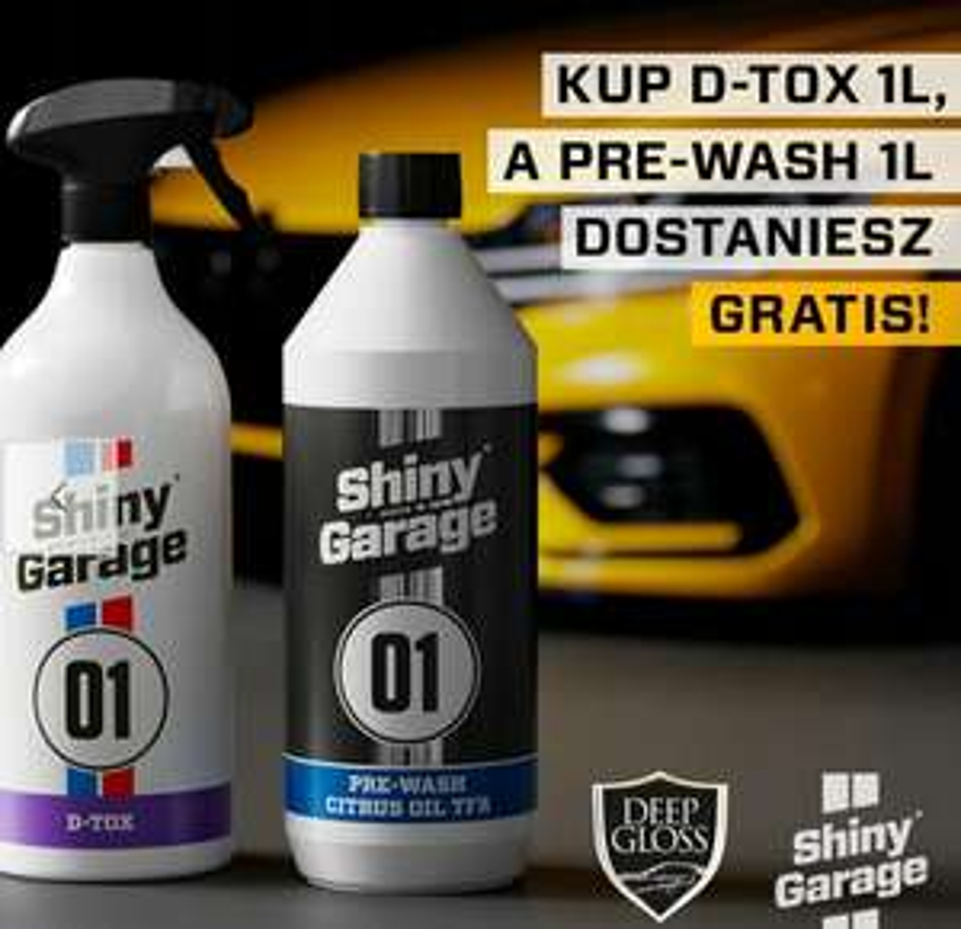 Shiny garage pre wash d-tox