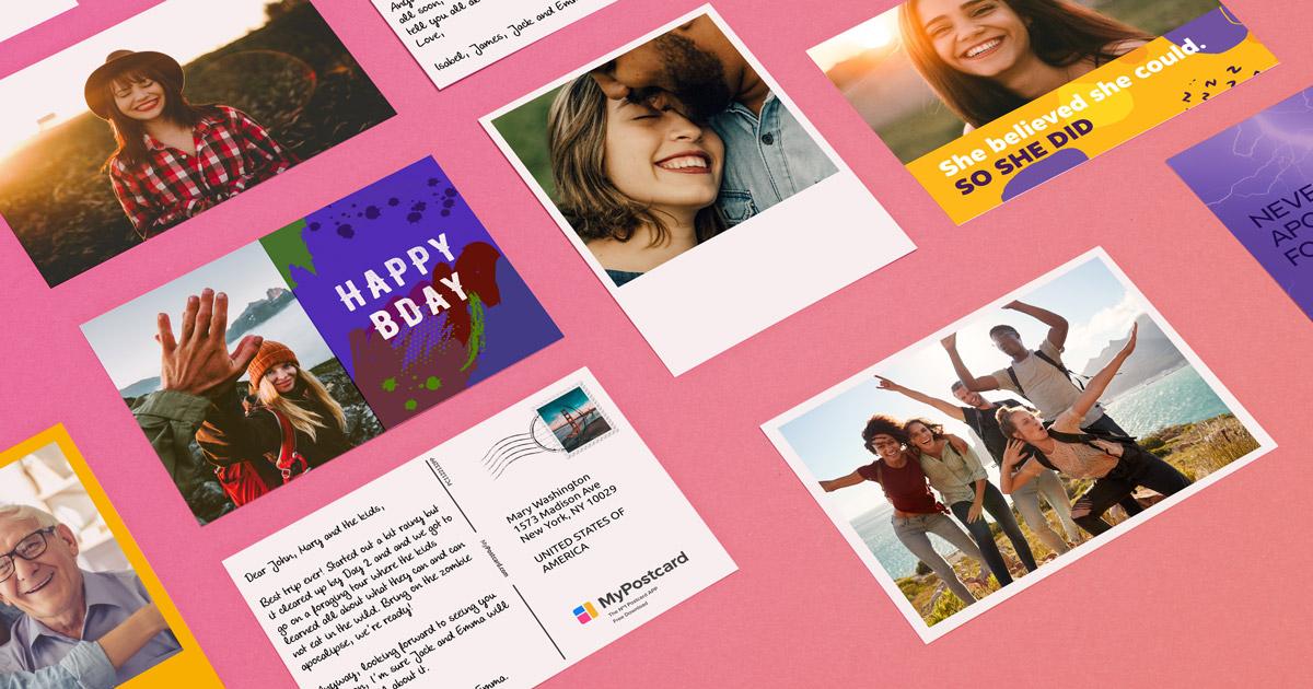 Darmowa pocztówka MyPostcard od google