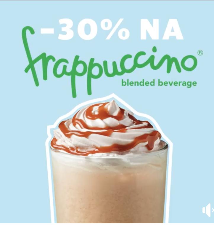 Starbucks -30% na frappuccino z okazji Dnia Dziecka
