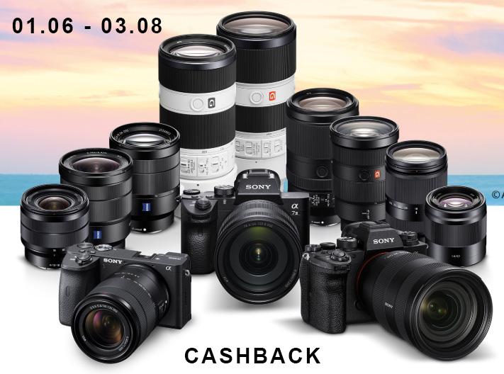 Fotografia - Letni Cashback Sony - obiektywy & aparaty (M.in. A7III, A6600)