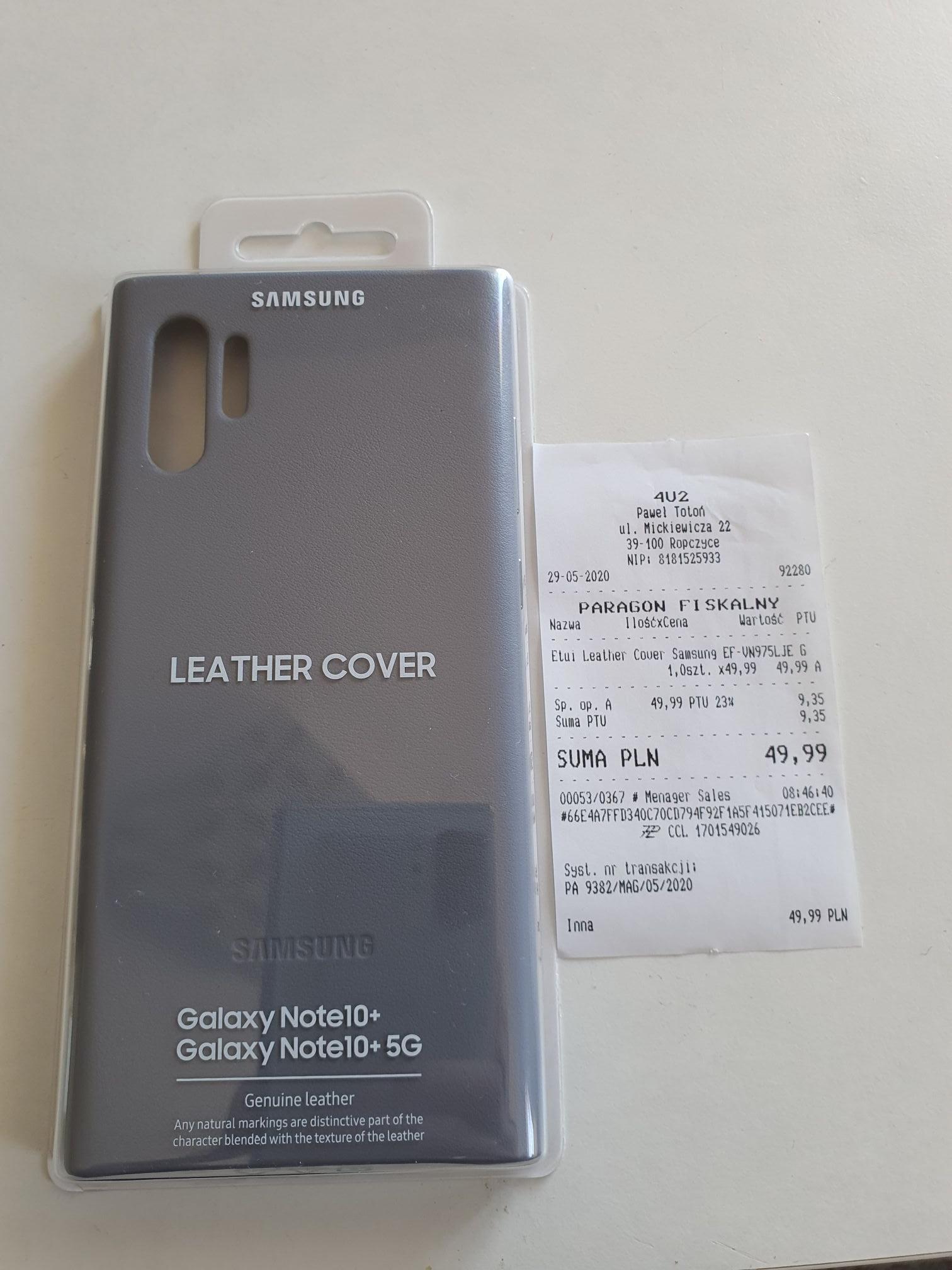 SAMSUNG ETUI EF-VN975 GALAXY Note 10+ Leather