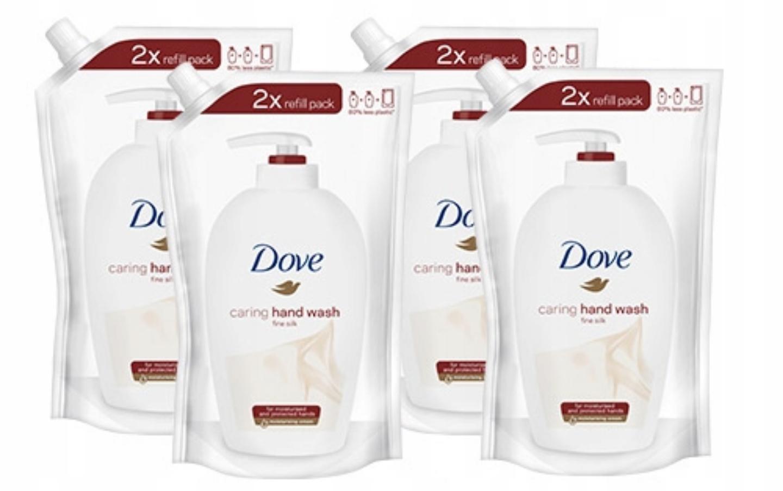 Allegro - Dove mydło w płynie zapas 4 x 500 ml