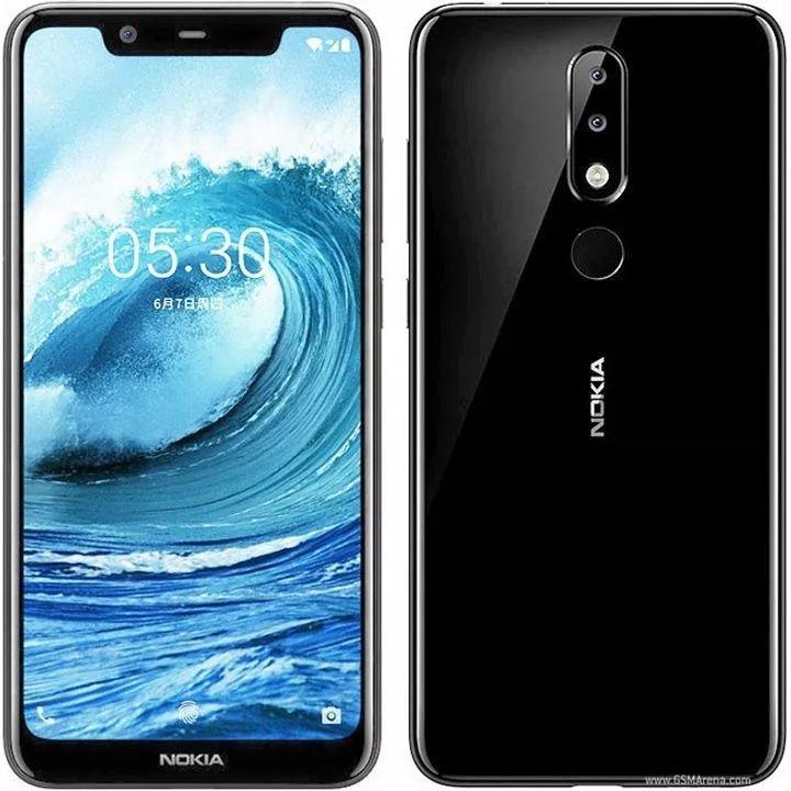 Nokia 5.1 DS Plus (czarny) + etui