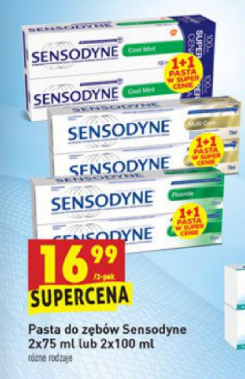 Sensodyne 2x75 lub 2x100 ml w Biedronce