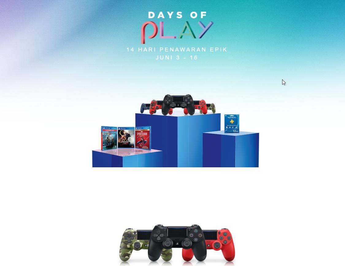 365 dni PlayStation PS Plus Indonezja w Days Of Play 119zł (30$)