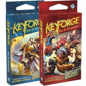Dwie talię Keyforge do każdego zamówienia oraz -5% na wszystko w nowym sklepie Rebel [Gry planszowe / Planszówki]